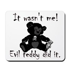 Evil Teddy Mousepad