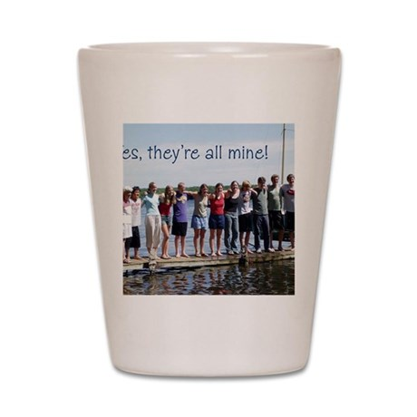 grandkids Shot Glass