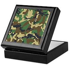 Camo Pattern Keepsake Box