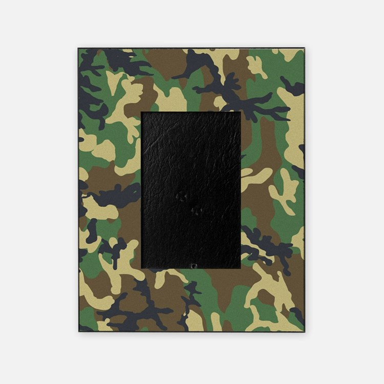 Camo Pattern Picture Frame
