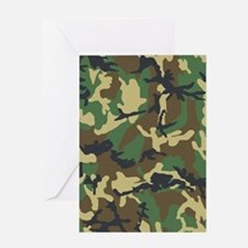 Camo Pattern Greeting Card