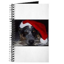 Christmas Cattle Dog Journal