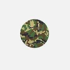 Camo Pattern Mini Button