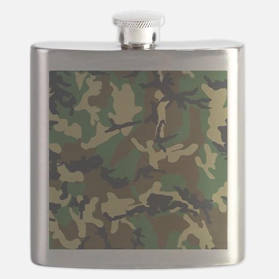 Camo Pattern Flask