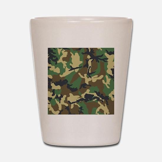 Camo Pattern Shot Glass