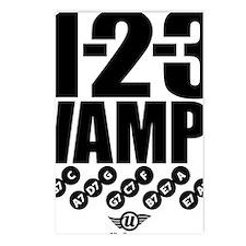 1-2-3 VAMP! Postcards (Package of 8)