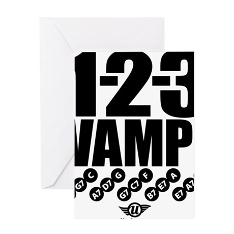 1-2-3 VAMP! Greeting Card