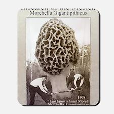 giant morel mushroom Mousepad