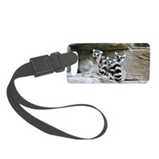 Lemurs Luggage Tag