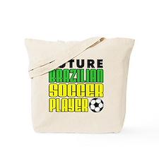 Future Brazilian Soccer Player Tote Bag