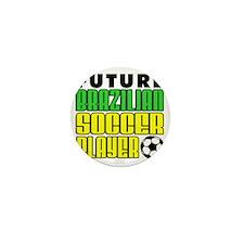 Future Brazilian Soccer Player Mini Button