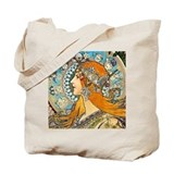 Mucha Canvas Totes