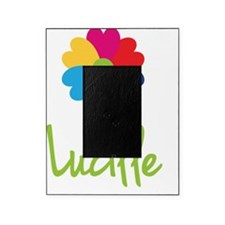 Lucille-Heart-Flower Picture Frame