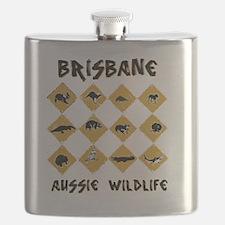 brisbanewildblack Flask