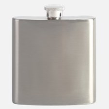 Like Big Mutts White Flask