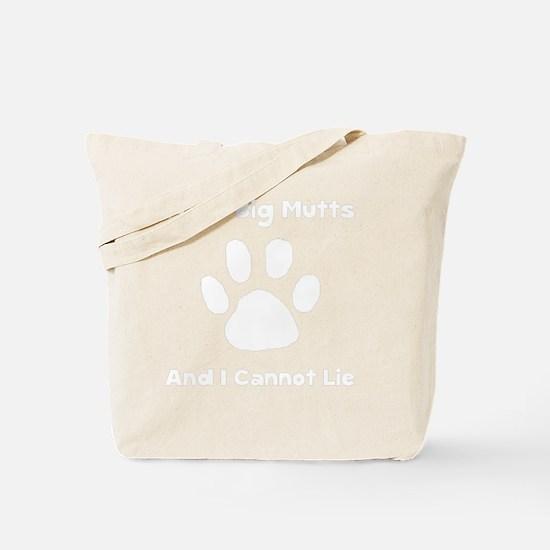 Like Big Mutts White Tote Bag