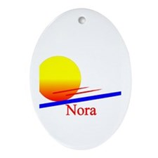 Nora Oval Ornament