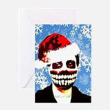 Monster Christmas Greeting Card