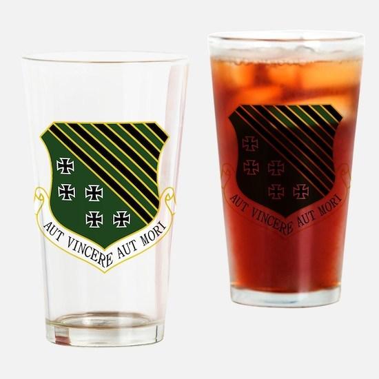 1st FW - Aut Vincere Aut Mori Drinking Glass