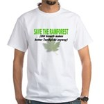 Old Growth Toothpicks White T-Shirt