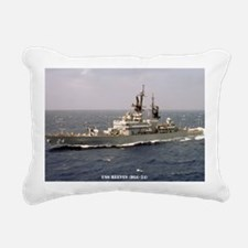 reeves dl lare framed pr Rectangular Canvas Pillow