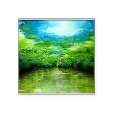 """riverbubble Square Sticker 3"""" x 3"""""""