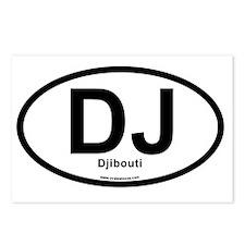 dj_djibouti Postcards (Package of 8)
