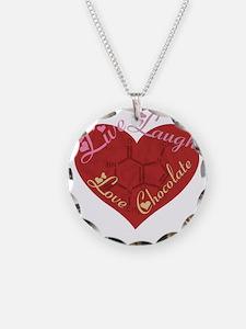 Love_chocolateshirt_vertical Necklace