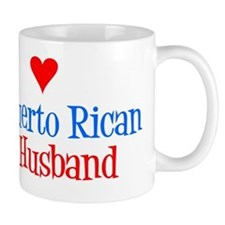 I Love My Puerto Rican Husband Mug