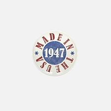 USA1947 Mini Button