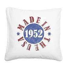 USA1952 Square Canvas Pillow