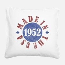 USA1952 Square Canvas Pillow
