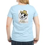 Cowboy Poppy Women's Pink T-Shirt