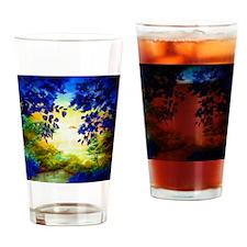 sunsetlake Drinking Glass