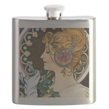 Pillow Mucha Feather Flask
