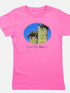 organ pipe saguaro Girl's Tee