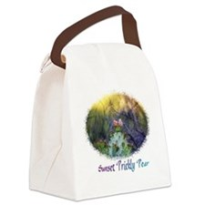 sunset prickly pear Canvas Lunch Bag