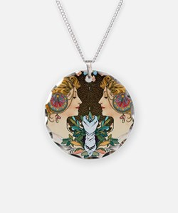 FF Mucha Feather Necklace