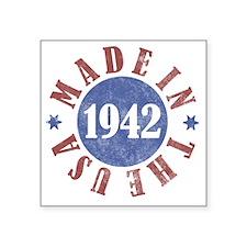 "USA1942 Square Sticker 3"" x 3"""