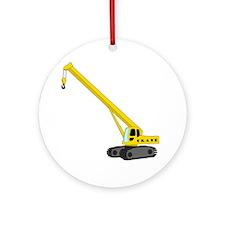 Crane Round Ornament