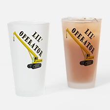 Lil Crane Operator Drinking Glass