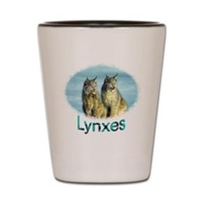 Lynx mates Shot Glass