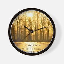 Sml_Poster_VERT_16x20_JAN_2012_INSOLVEN Wall Clock