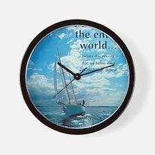 Sml_Poster_VERT_16x20_JAN_2012_MEDIOCRE Wall Clock