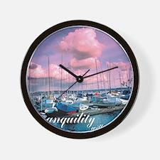 Sml_Poster_VERT_16x20_JAN_2012_TRANQUIL Wall Clock