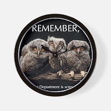 Sml_Poster_HORIZ_16x20_JAN_2012_OWLS Wall Clock