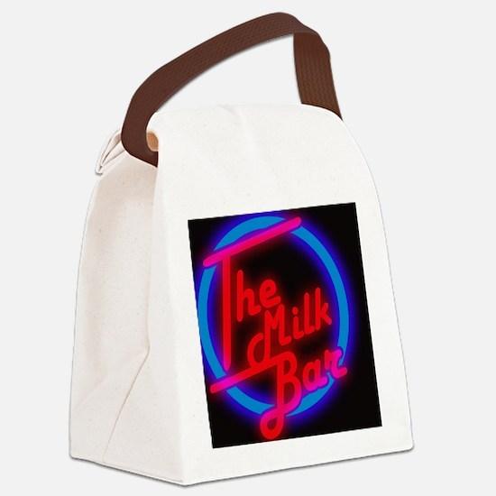 Milk Canvas Lunch Bag