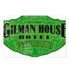 GILMAN HOUSE HOTEL Postcards (Package of 8)