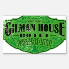 GILMAN HOUSE HOTEL Decal