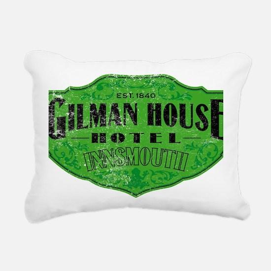 GILMAN HOUSE HOTEL Rectangular Canvas Pillow
